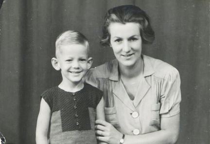 Boudewijn van Oort and his Mother