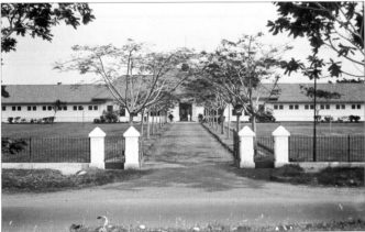 Main entrance of Tangerang (LOG) Youth detention centre