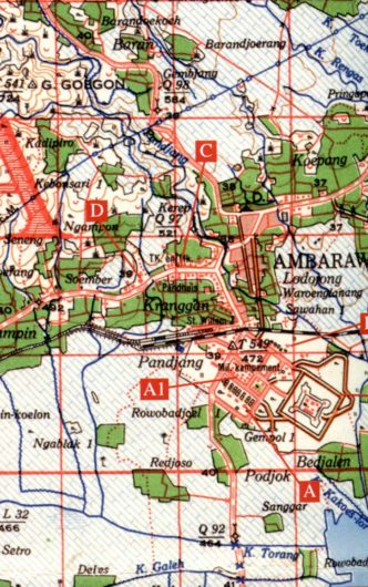 Ambarawa area prison camps, Java